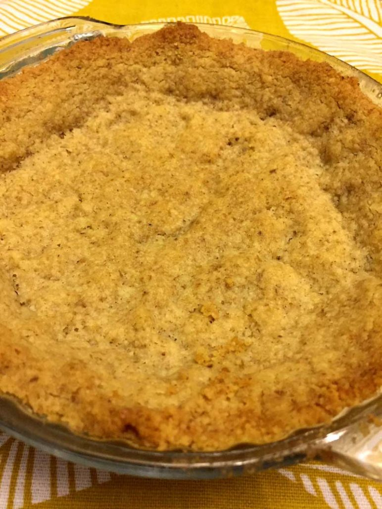 Keto Walnut Pie Crust