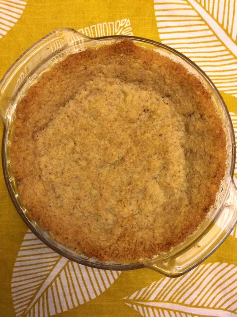 Walnut Pie Crust - Keto and Gluten Free