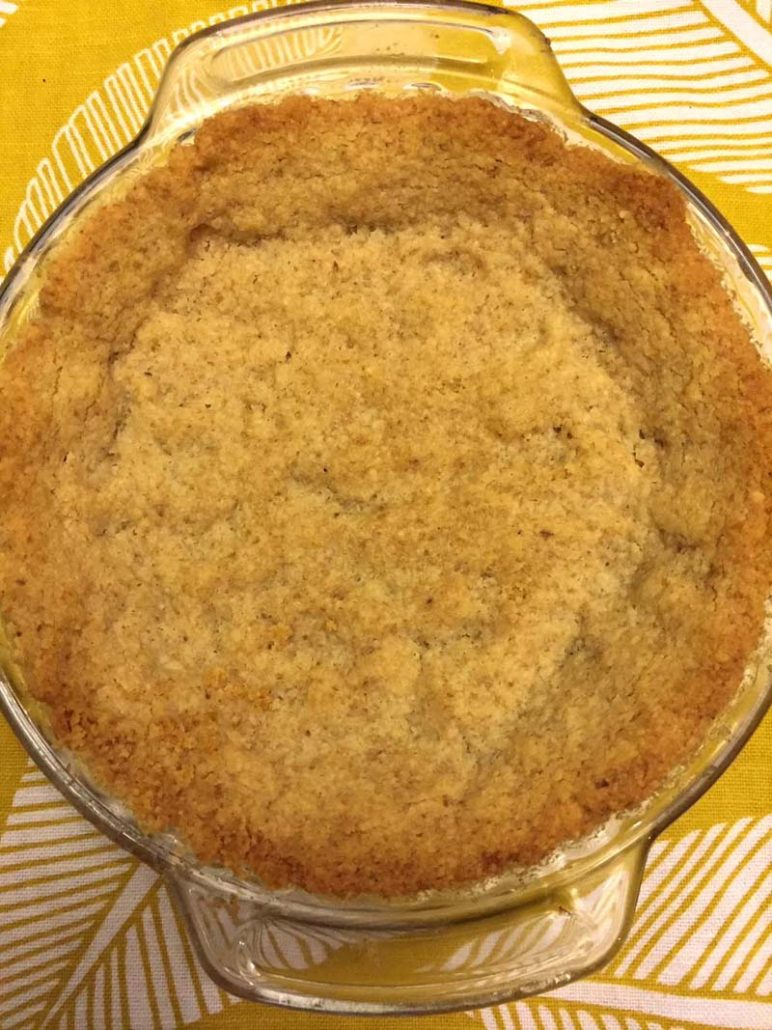 Baked Walnut Crust
