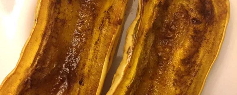Oven Roasted Delicata Squash Recipe