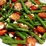 Green Beans Tomato Feta Salad Recipe