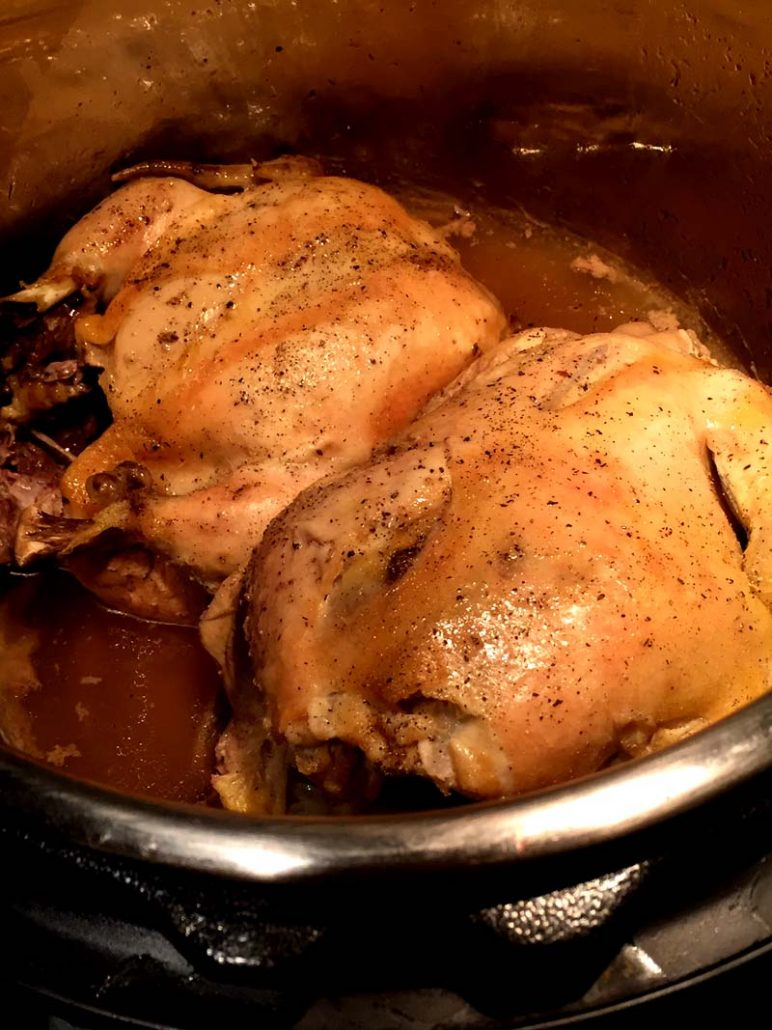 Instapot cornish hens