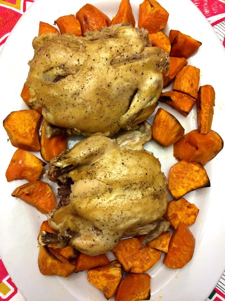 Easy Instant Pot Cornish Hens