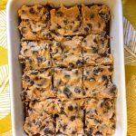 Easy Cookie Dough Brownies