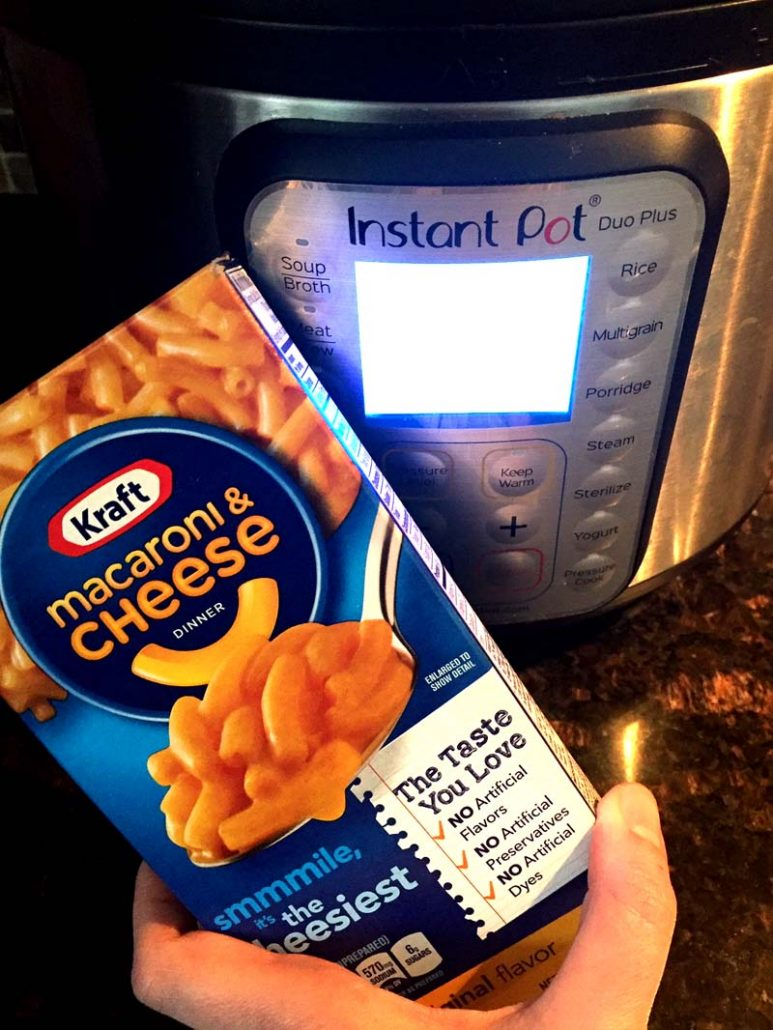 Instant Pot Kraft Mac N Cheese