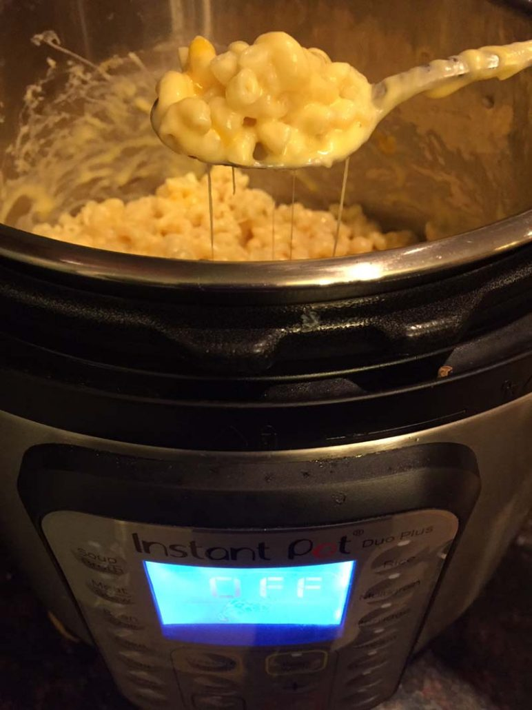Pressure Cooker Mac N Cheese
