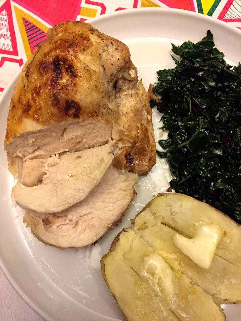 Instant Pot bone-in chicken breast recipe