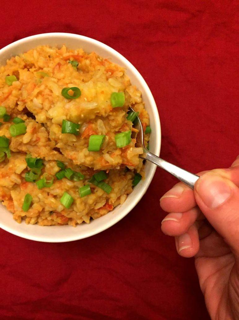 Vegan Lentils and Brown Rice