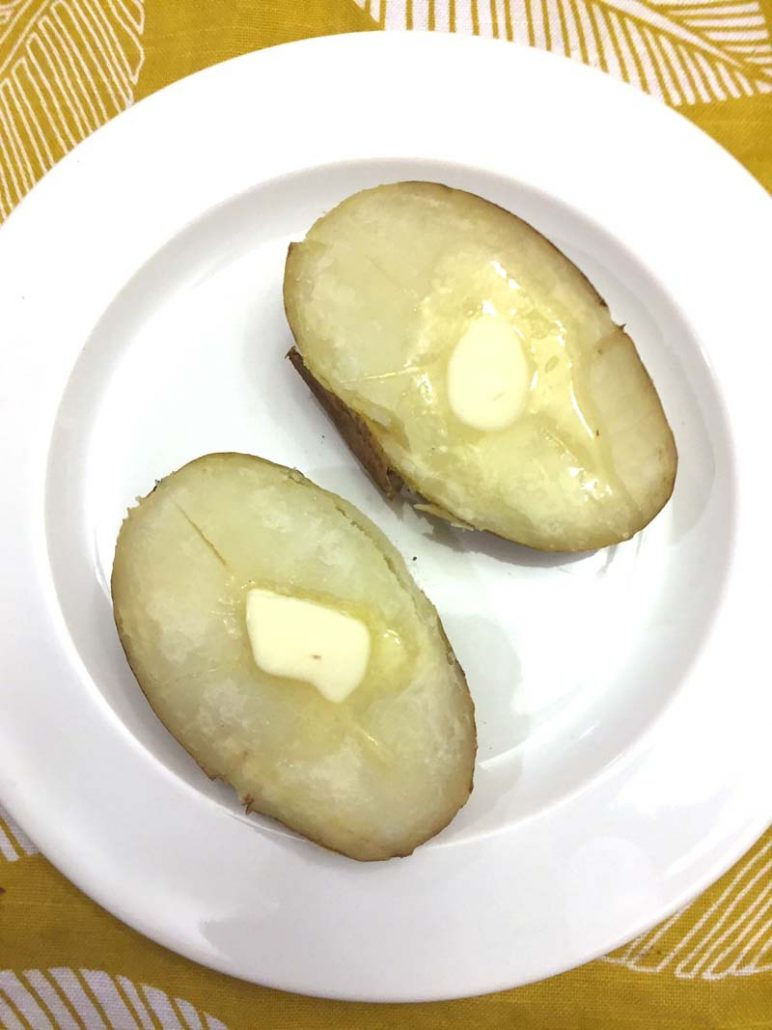 Pressure Cooker Baked Potato