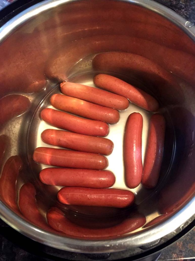 Instant Pot Hot Dogs For A Crowd