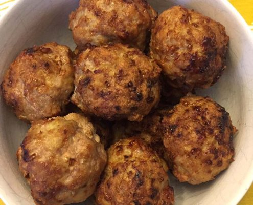 Air Fryer Meatballs Recipe