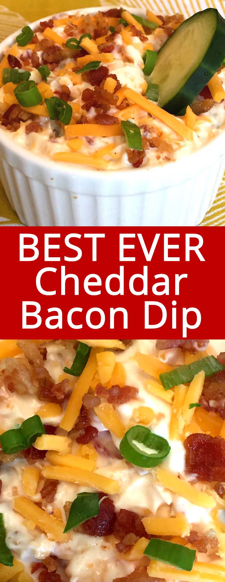 This bacon cheddar dip is amazing! Perfect appetizer for a keto diet! Awesome flavor without the carbs! Everyone loves this bacon cheddar dip!