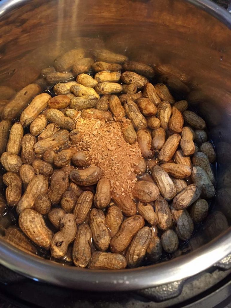 How to make boiled peanuts in Instant Pot