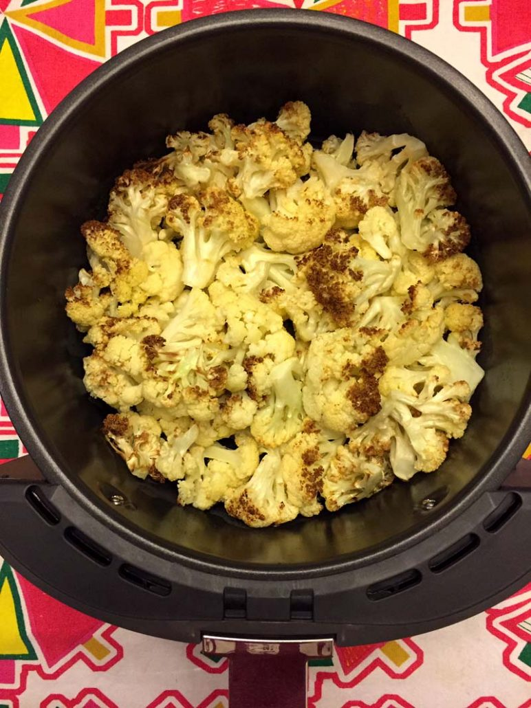 how to cook cauliflower in the air fryer