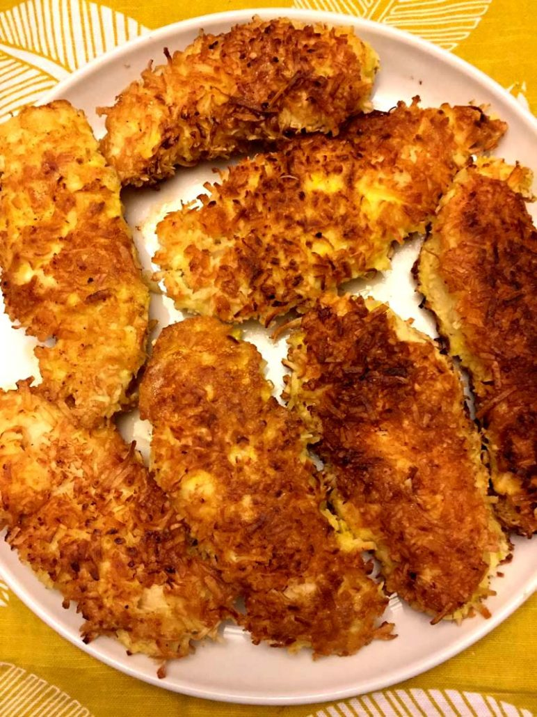 Coconut Crusted Chicken Tenders Recipe