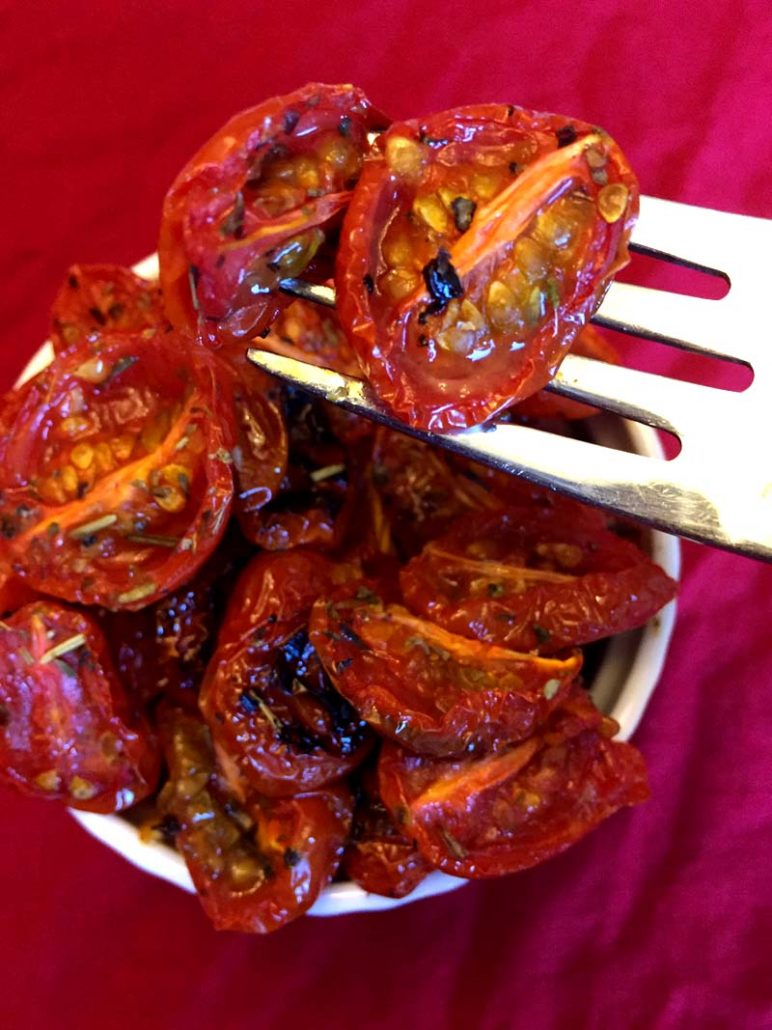 Homemade Roasted Cherry Tomatoes