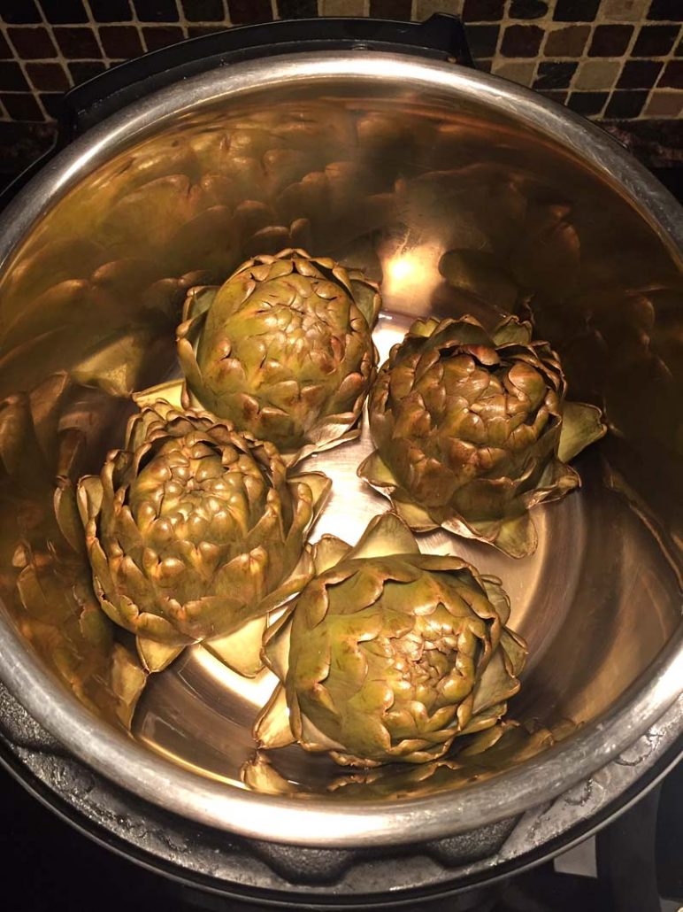 Easy Instant Pot Artichokes Recipe
