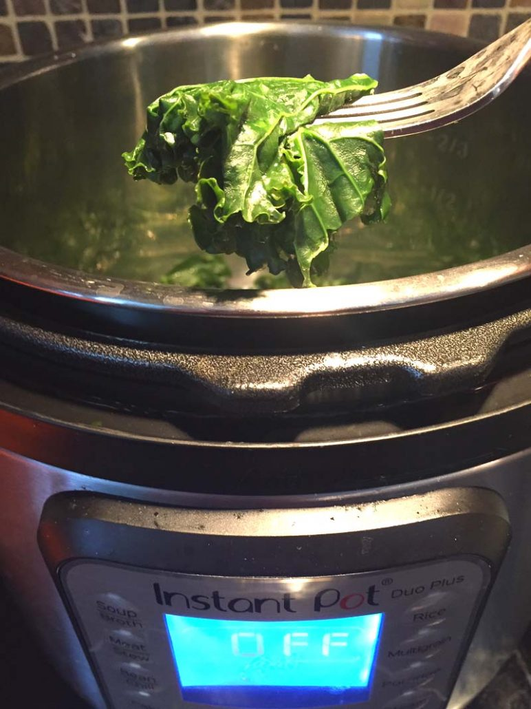 How To Cook Kale In The Instant Pot