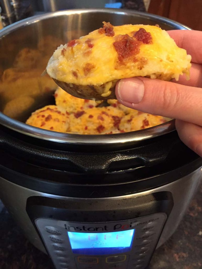 How To Make Twice Baked Potatoes In The Instant Pot