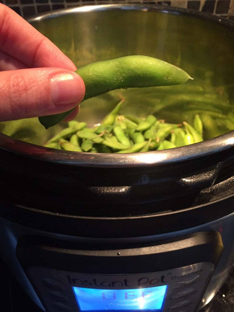 Cooking Frozen Edamame In The Instant Pot