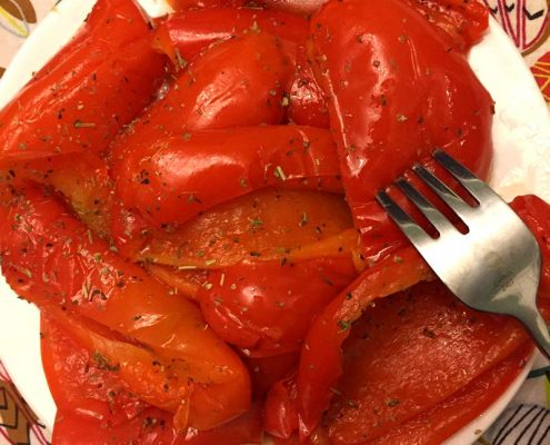 Instant Pot Italian Red Bell Peppers