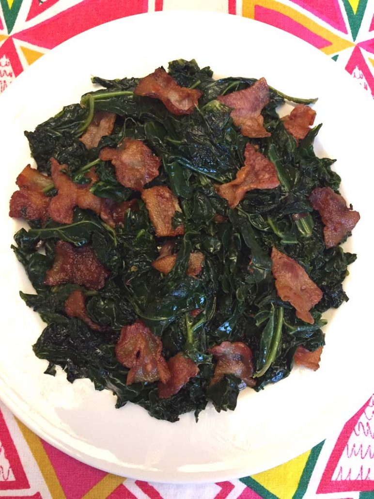 kale and bacon recipe