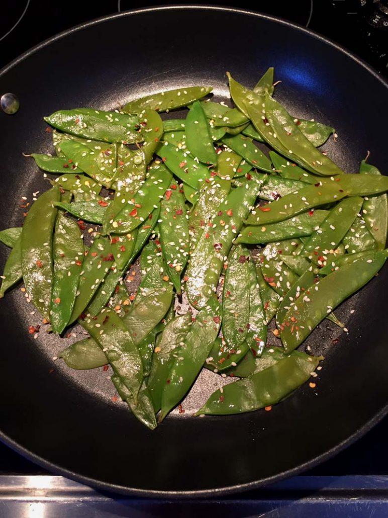 How To Make Stir-Fried Snow Peas