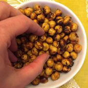 Air Fryer Chickpeas