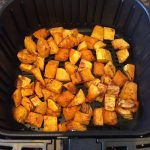 Air Fryer Roasted Butternut Squash Cubes