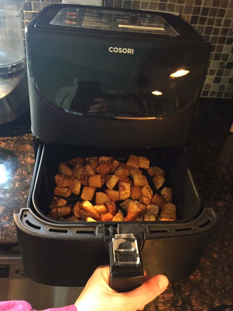 Air Fryer Roasted Butternut Squash