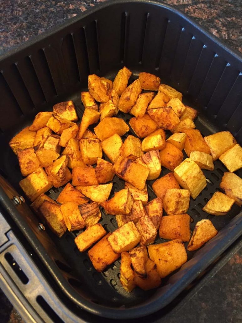 easy air fryer butternut squash
