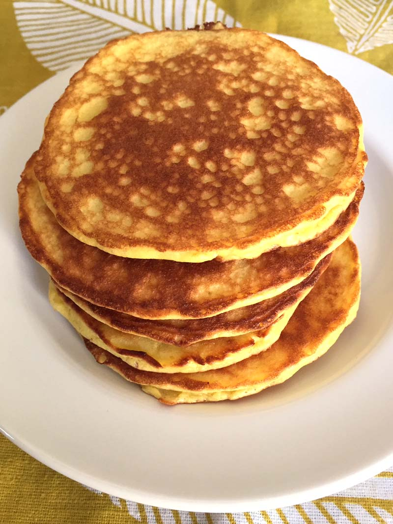 Keto Pancakes With Coconut Flour Melanie Cooks