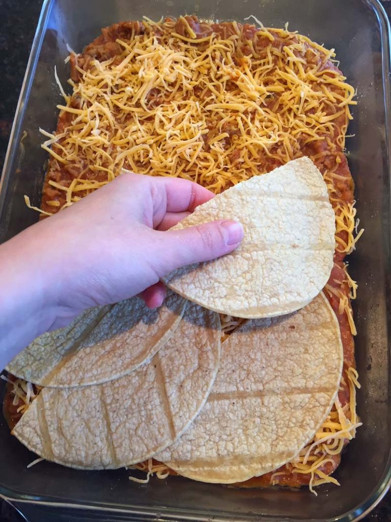 How To Make Enchilada Casserole
