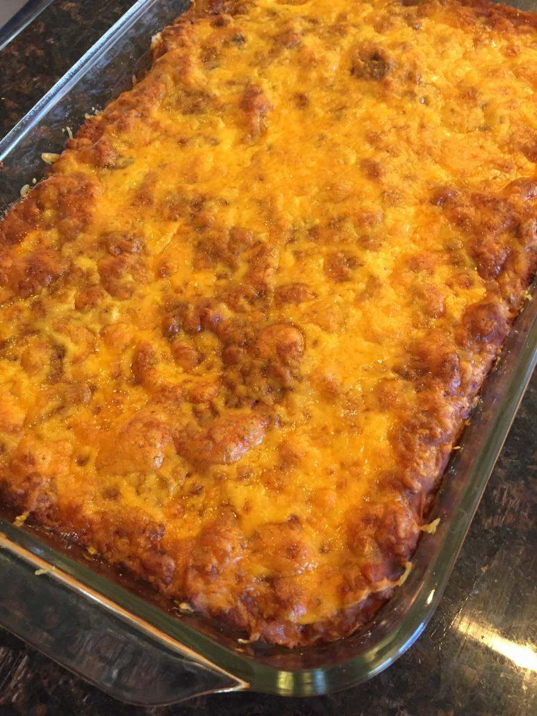 Baked Enchilada Casserole