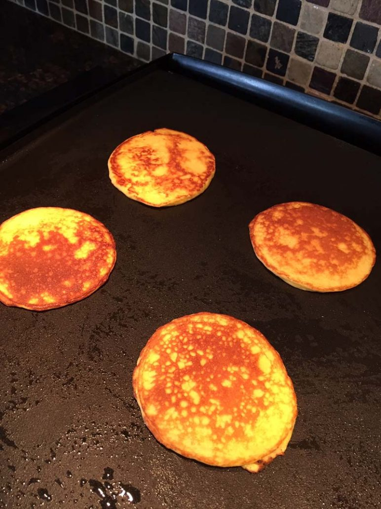 low carb coconut flour pancake recipe