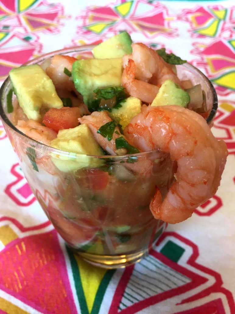 Authentic Mexican Shrimp Cocktail