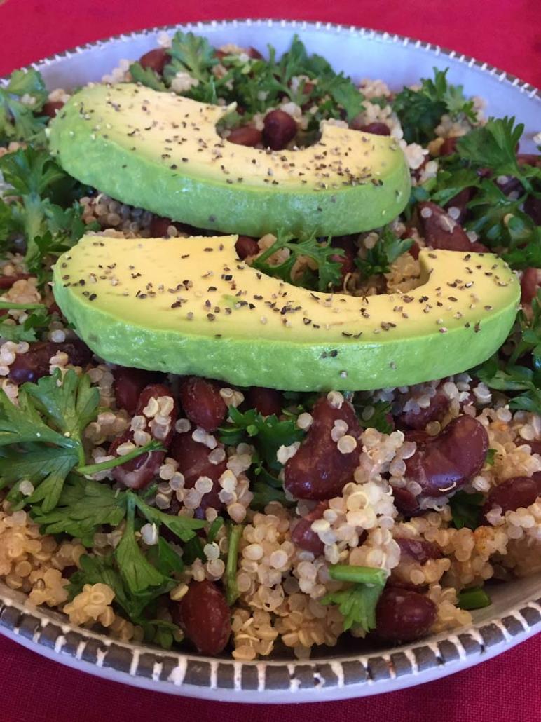 Avocado Quinoa Bowl Recipe