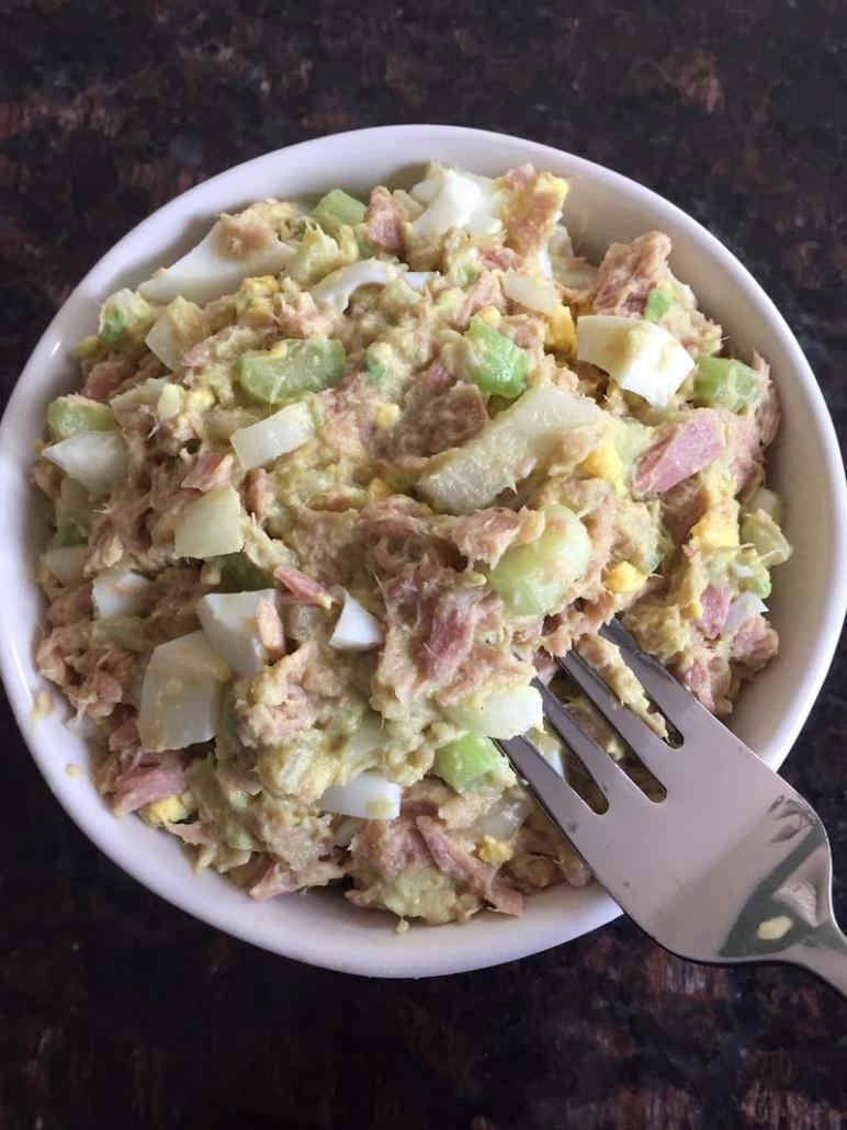 Tuna Avocado Egg Salad Recipe Keto Melanie Cooks
