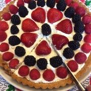 Keto Fruit Tart