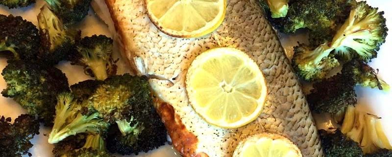 Baked Whole White Fish Recipe