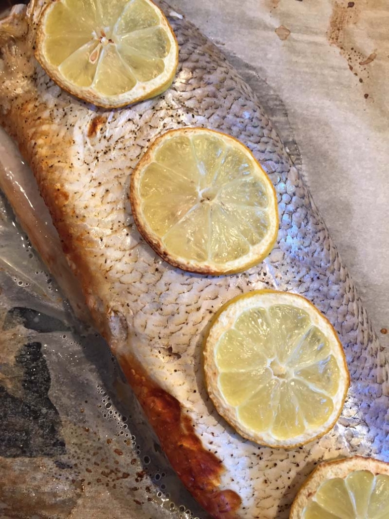 cooking whole whitefish in the oven