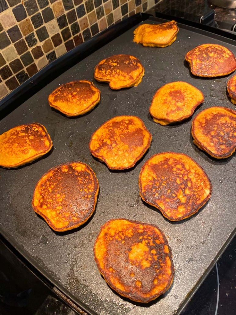 paleo sweet potato pancakes