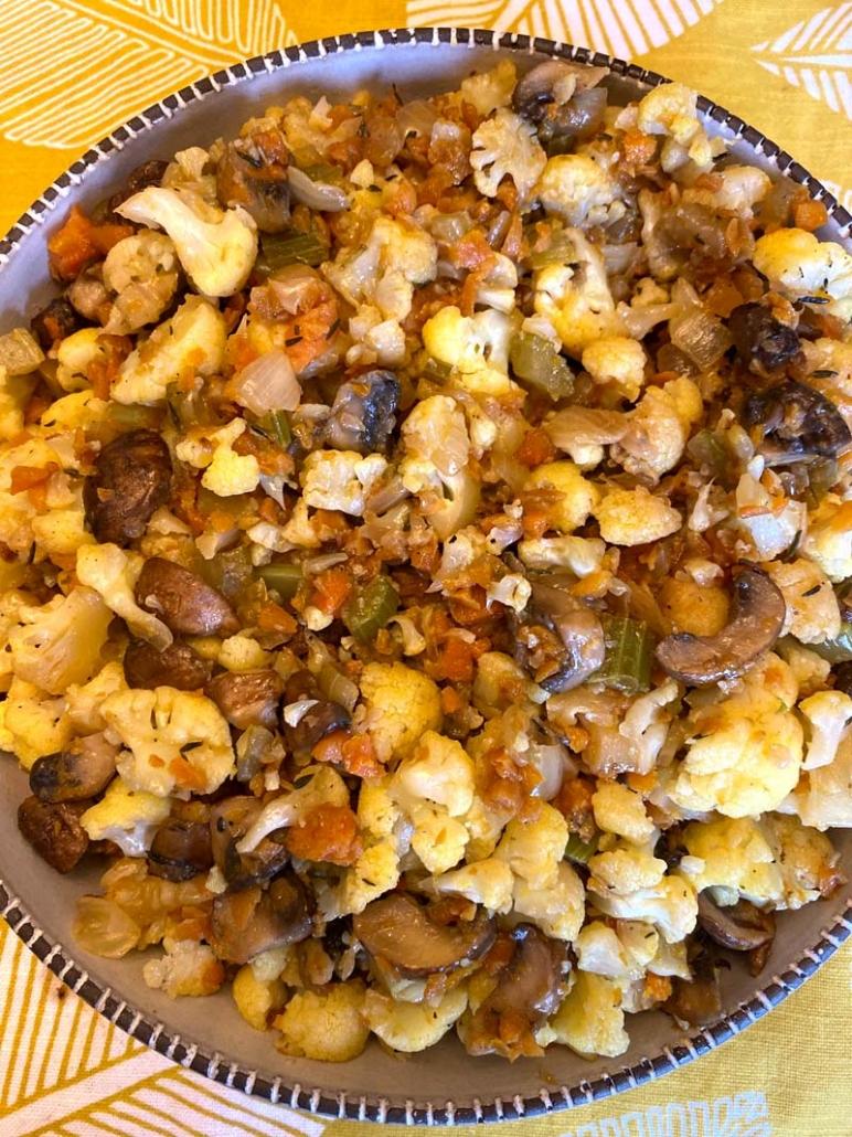 gluten-free cauliflower stuffing recipe