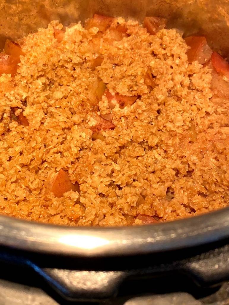Instant Pot Apple Crisp Recipe Without Flour