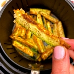 Air Fryer Keto Zucchini Fries With No Breading