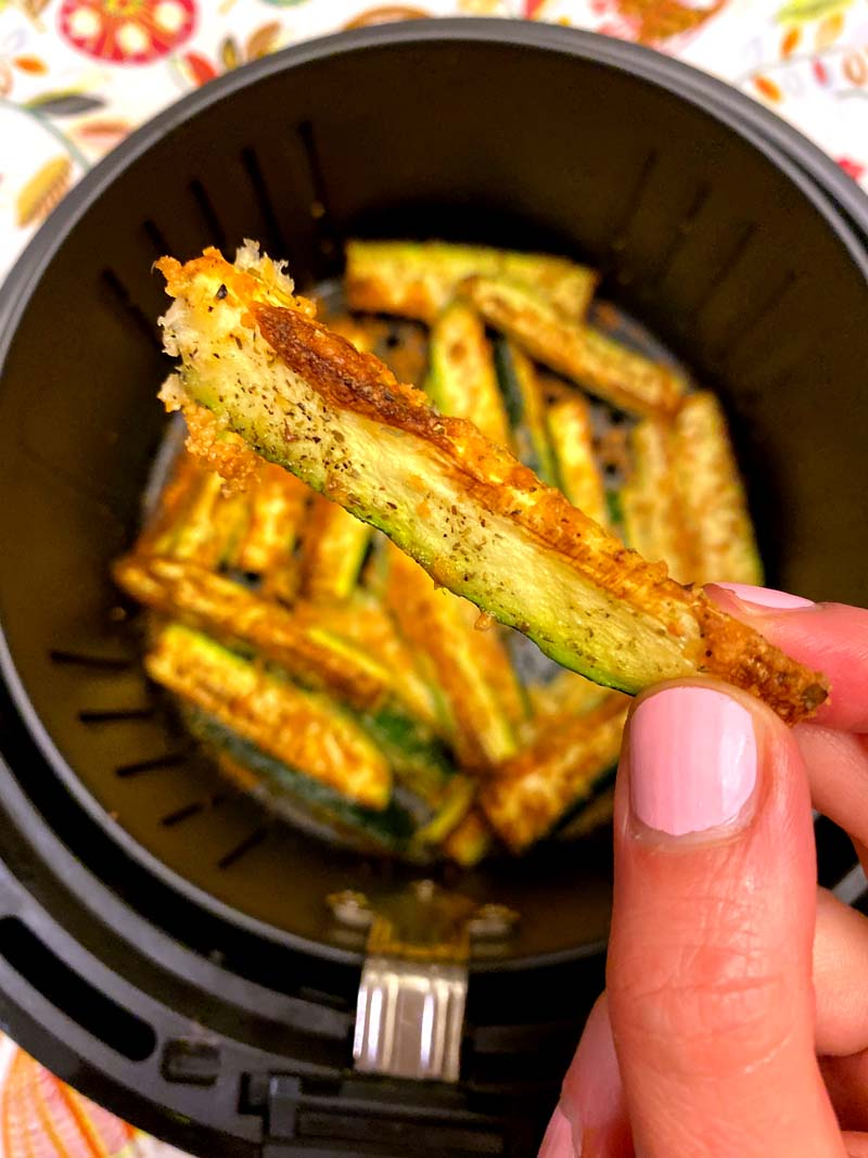 Air Fryer Keto Zucchini Fries With No Breading Melanie Cooks