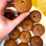Keto Cinnamon Baked Donuts (Gluten-Free, Low Carb)