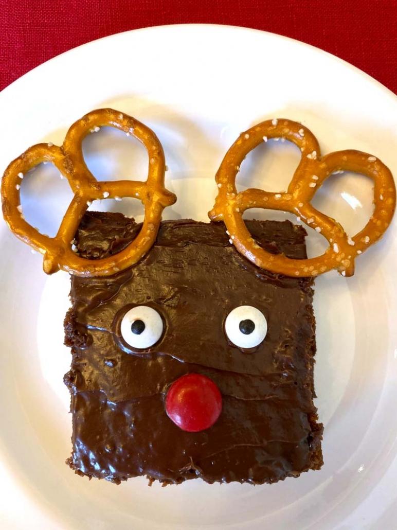 rudolph brownies recipe