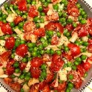 Green Peas Tomato Salad