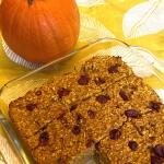 Pumpkin Baked Oatmeal {Gluten-Free, No Refined Sugar}